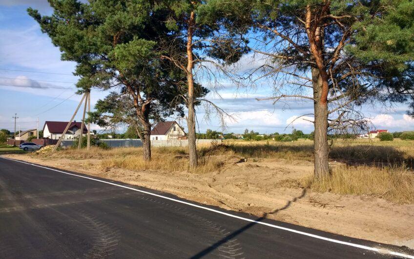 10 соток землі біля нової дороги. Бучанська громада – Мироцьке.